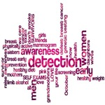Breast Cancer Awareness Pink Word Cloud