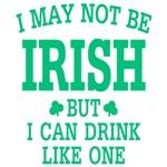 I may not be Irish
