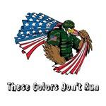 Custom Flag and Eagle
