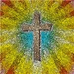 Cool Colorful Cross