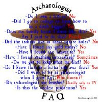 Archaeologists FAQ and Skull