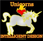 Unicorns LOVE (Heart) Intelligent Design