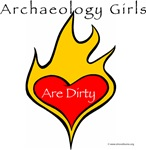ShovelBums Archaeology Gear - Archaeology Girls Are Dirty