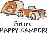 Unique Baby Gifts - Future Happy Camper