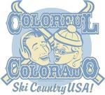 Unique Baby Gifts - Colorful Colorado Ski Country