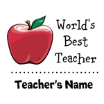 Custom World's Best Teacher