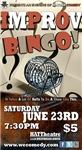 Improv Bingo Takes Balls