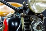 1936 EL Classic Motorcycle