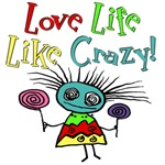 Funny Love Life Zombie Girl