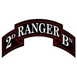 2nd Ranger Battalion Scroll