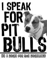 Speak for Pit Bulls