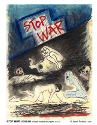 STOP WAR: SCREAM!