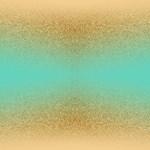 Gold Glitter Aqua Ombre