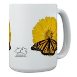 Butterflies and Flowers (large mugs)