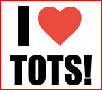 I Heart Tots, Napoleon Dynamite Fun T Shirts