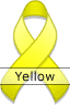 Yellow Ribbon for National Spina Bifida Awareness Month
