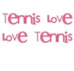 Love Tennis Tshirs | Pink
