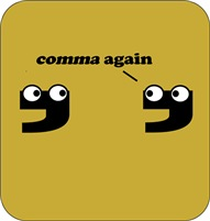 Comma again