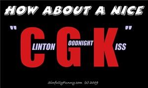 Clinton Goodnight Kiss