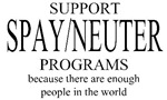 Support Spay/Neuter Programs