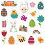 Cute Easter Element Icon