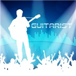 Guitarist Equalizer Background