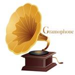 Vintage Retro Gramophone