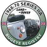 1968-1970 Series IIA Bugeye Registry