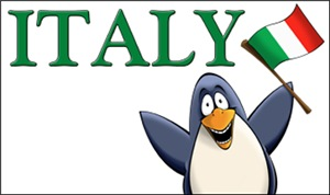 Italy Penguins