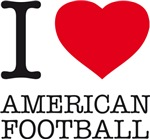 I LOVE AMERICAN FOOTBALL