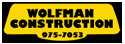 Wolfman Construction