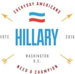 Gallant Hillary Clinton