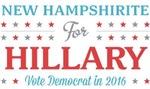 New Hampshirite for Hillary