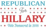 Republican for Hillary