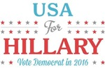 USA for Hillary