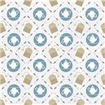 Vintage Tea Pattern Gifts for Tea Lovers