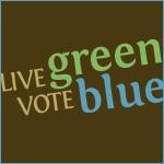 Live Green, Vote Blue