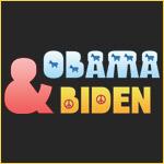 Peace and Donkeys Obama Biden