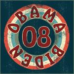 Vintage Obama Biden Bullseye Tees