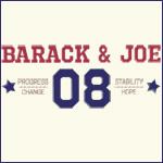 Classic Sporty Obama and Joe 08