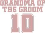 Uniform Grandma of the Groom 10 T-Shirts