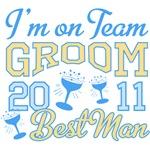 Team Groom 2011 Best Man Shirts