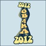 Vertical Twist Obama 2012 Shirts