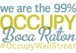Occupy Boca Raton T-Shirts