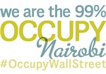 Occupy Nairobi T-Shirts