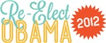 Retrana Re-Elect Obama Tees
