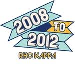 2008 to 2012 Rho Kappa