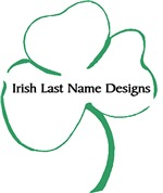 Irish Last Name Designs