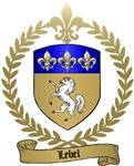 LEBEL Family Crest