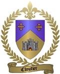 CLOUTIER Family Crest